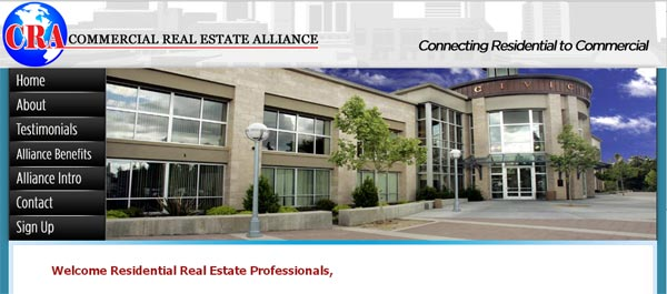 Commercial Real Estate Alliance New Website