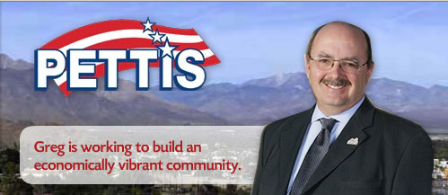 Greg Pettis Cathedral City Councilman Website System