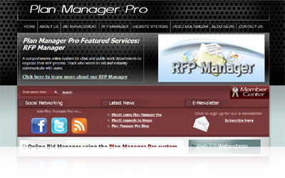 Plan Manager Pro Website
